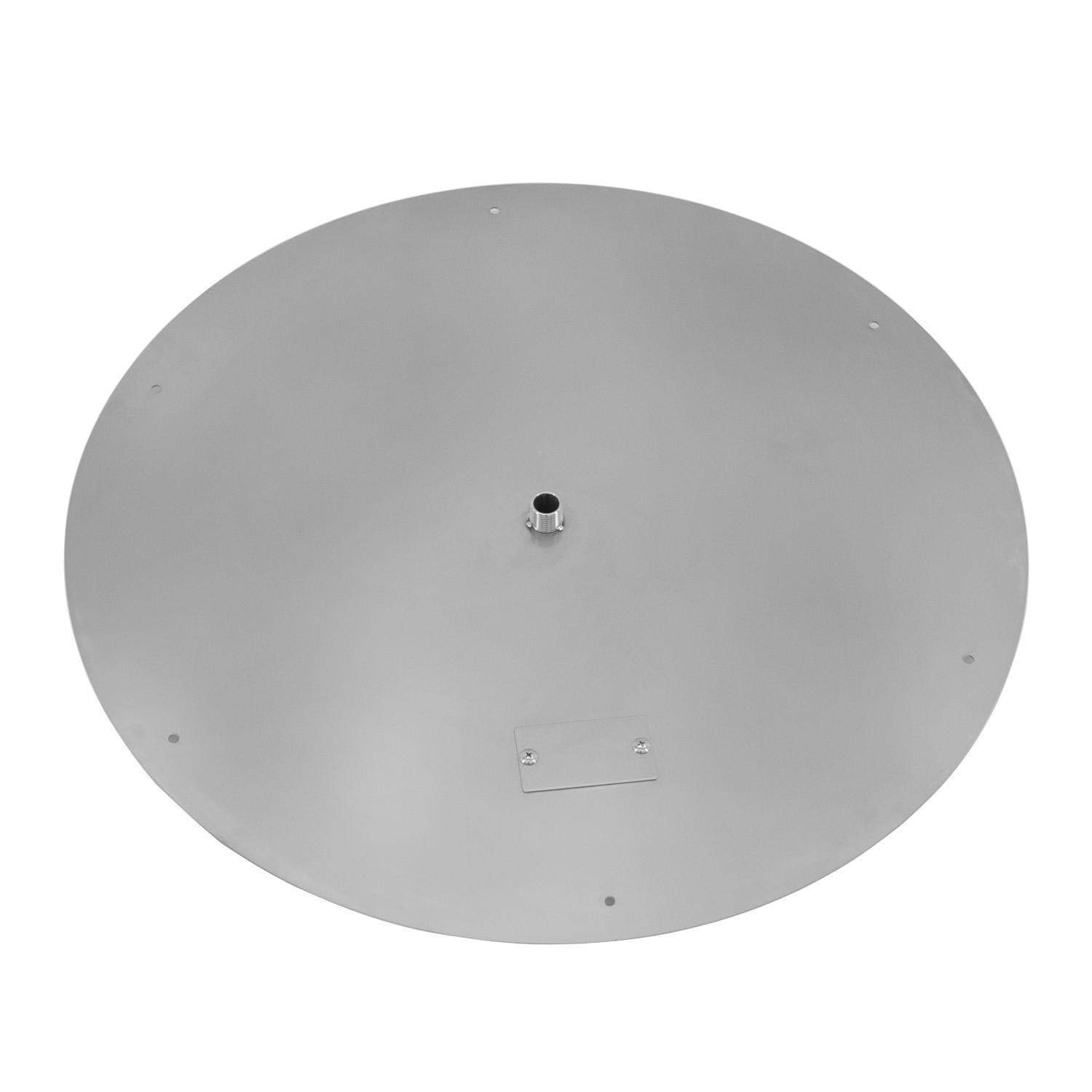 Alpine Flame 36-Inch Flat Round Stainless Fire Pit Burner Pan by Alpine Flame
