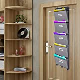 Over The Door File Organizer,Wall Mounted Hanging