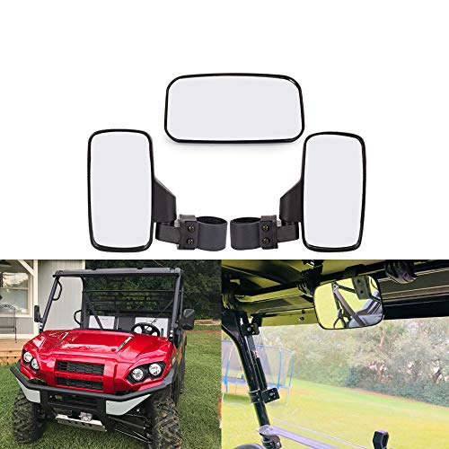UTV Rearview Side Mirror And Center Mirror Set 1.75