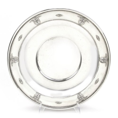 (Rose Point by Wallace, Sterling Sandwich Tray)