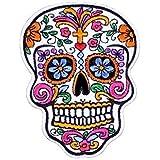 KUSTOM FACTORY Picture Gifts Ecusson Mexicano de Calavera Bordado 7,5x 10cm