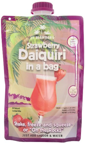 - Lt. Blender's Strawberry Daiquiri in a Bag, 12-Ounce Pouches (Pack of 3)