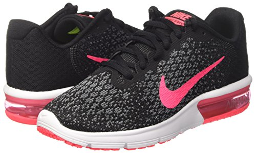 wolf Mujer anthracite Max Air white cool Nike Grey Wmns 2 black Pink Negro Sequent racer Zapatillas Deporte De Grey aqSHO8