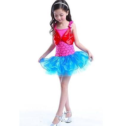 Vestido de ballet para niñas con diseño de bailarina ...