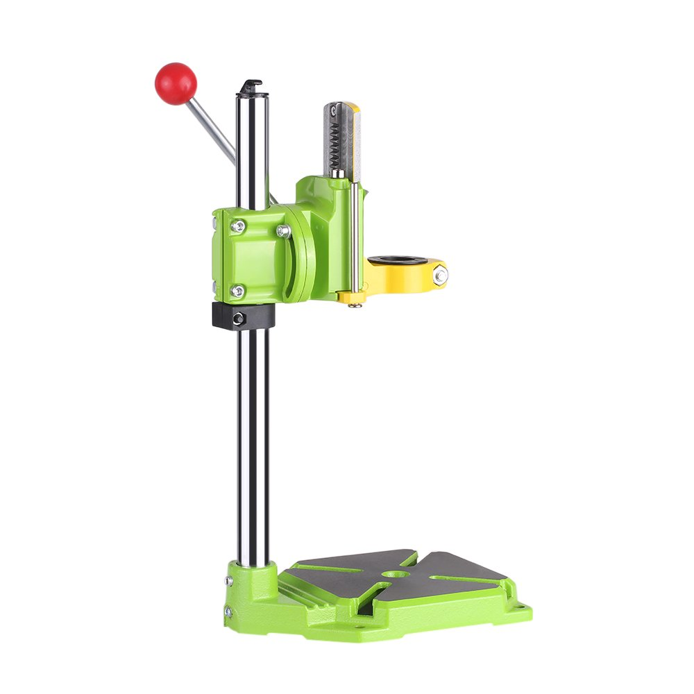 KKmoon High Precision Electric Power Drill Press Stand Table Rotary Tool Workstation Drill Workbench Repair Tools Clamp Work Station with 0-90 Degree Rotating Fixed Frame for Drilling Collet Table by KKmoon (Image #7)