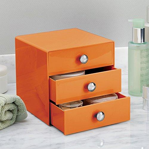 Interdesign 35361eu organizador con 3 cajones color - Organizador cajones bano ...