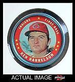 1971 Topps Coins # 134 Ken Harrelson Cleveland Indians (Baseball Card) Dean's Cards 3 - VG Indians