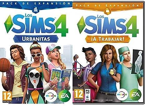 Los Sims 4: Urbanitas (PC) & ¡A Trabajar!: Amazon.es: Videojuegos