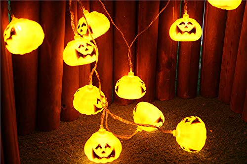 Halloween Party Ghost Festival Pumpkin LED Lantern String
