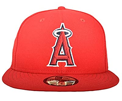New Era 59FIFTY Los Angeles Angels of Anaheim 2017 Authentic Collection On Field Game Cap