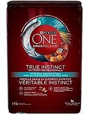 Purina ONE Smartblend True Instinct Natural Dry Dog Food, Salmon & Tuna 6.8 kg