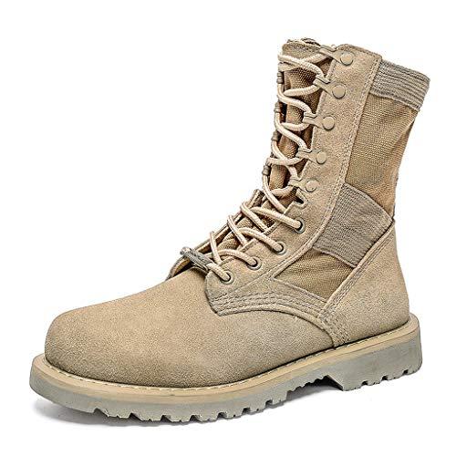 Tide Tide Tide Militari Uomo da Uomo Tooling da da Uomo Uomo Uomo Martin in Stivali Stivali Desert Stivali Pelle Stivali qSxPgwtO