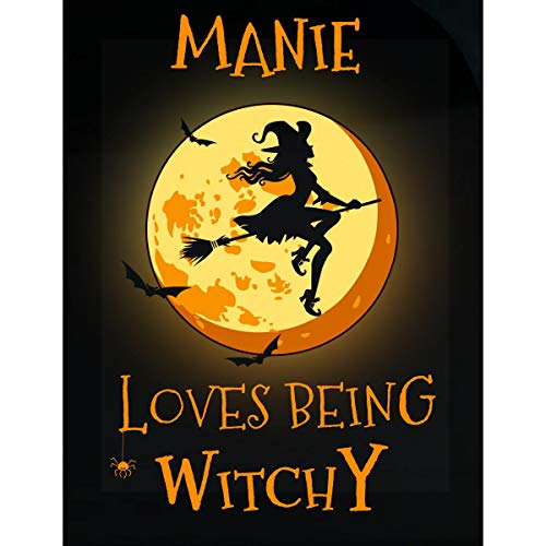 Inked Creatively Manie Loves Being Witchy Sticker