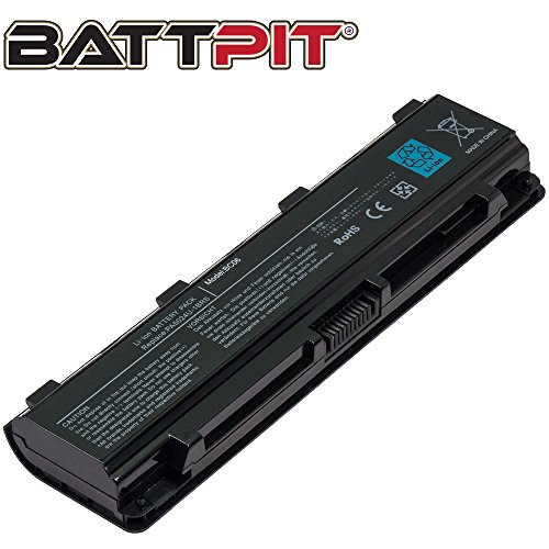 Battpit™ Laptop / Notebook Battery Replacement for Toshiba PA5121U-1BRS (4400 mAh) (1brs Toshiba Replacement)