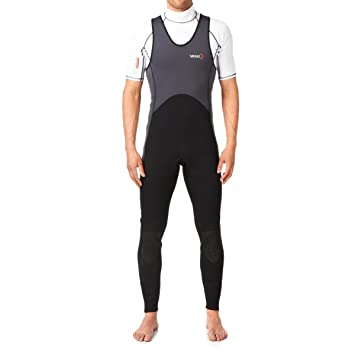 Yak Step In 3mm Long John Wetsuit Grey/Black 5405-A: Amazon.es ...