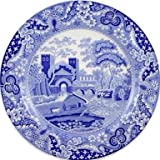 *Spode Blue Room Traditions Plate - Castle