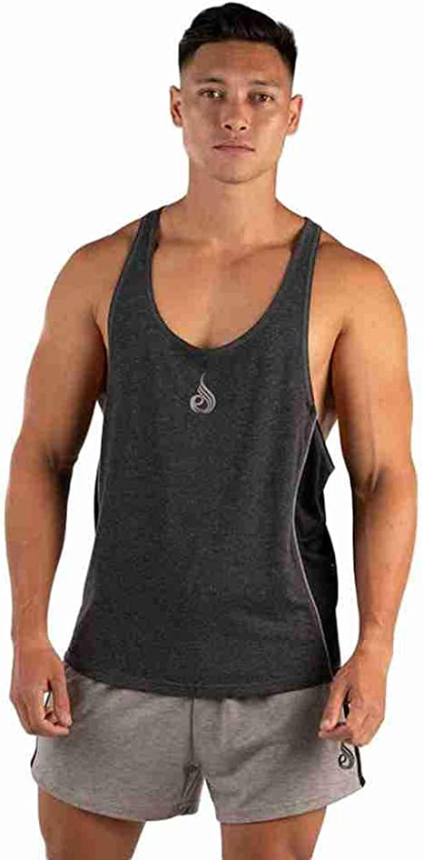 Camiseta de algodón | Mens casual outfits, Mens tank tops