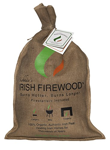 Brick Peat - Siobhan's Irish Firewood (Irish Turf with Fire Starters)