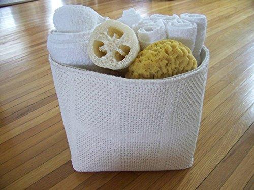 Re-purposed Vintage Blanket basket