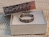 1964 Kennedy Half Dollar Coin Ring 90% Silver. Birthday Gift, Wedding Anniversary