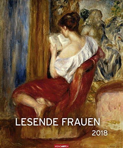 Lesende Frauen - Editions-Kalender 2018 - Weingarten-Verlag - Kunstkalender - Wandkalender - 46 cm x 55 cm