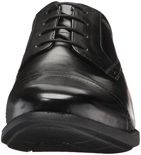 Dixon Black up Toe Oxford Lace Men's Cap Nunn Bush 81AEwE
