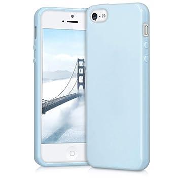 65b2b06154b kwmobile Funda compatible con Apple iPhone SE / 5 / 5S: Amazon.es:  Electrónica
