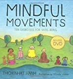 img - for Mindful Movements Ten Exercises for Well Being by Thich Nhat Hanh [Parallax Press,2008] (Spiral-bound) book / textbook / text book