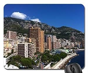 French Riviera, Mónaco, Monte Carlo Mouse Pad, Mousepad (Beaches Mouse Pad)