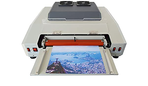 Wide 13in 330mm UV Coating Machine Laminating After Print Equipment