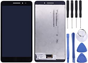 Linmatealliance LCD Screen LCD Replacement Touch Screen Replacement LCD Repair LCD Screen and Digitizer Full Assembly for Lenovo Phab Plus PB1-770N / PB1-770M / PB1-770 (Black) LCD (Color : Black)