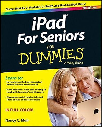Amazon Ipad For Seniors For Dummies 9781118944387 Nancy C