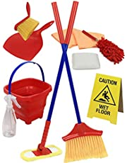 Click N' Play Pretend Play Housekeeping Cleaning Set