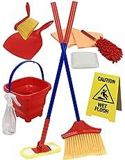 مجموعة لعبة التظاهر لتنظيف المنزل من كليك اند بلاي