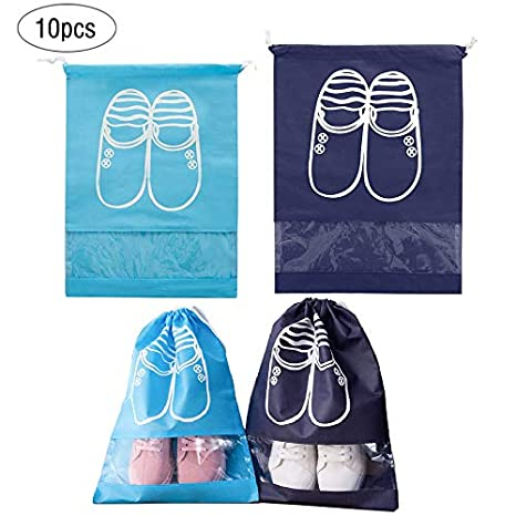 INHEMi - 10 Bolsas organizadoras de Zapatos de Viaje ...