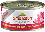 Cheap Almo 2.47 Oz Legend Chicken & Liver Canned Cat Food (24 Case), Medium