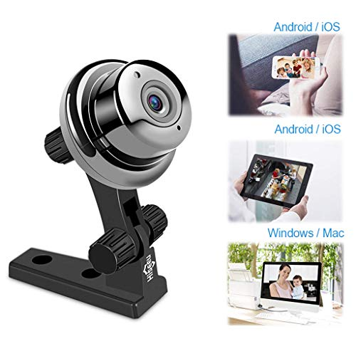 Baby Monitor Wireless Network Remote Camera Motion Detection Alarm Pixel 1 Million (dpi) Compatible with Android/iOS/Computer