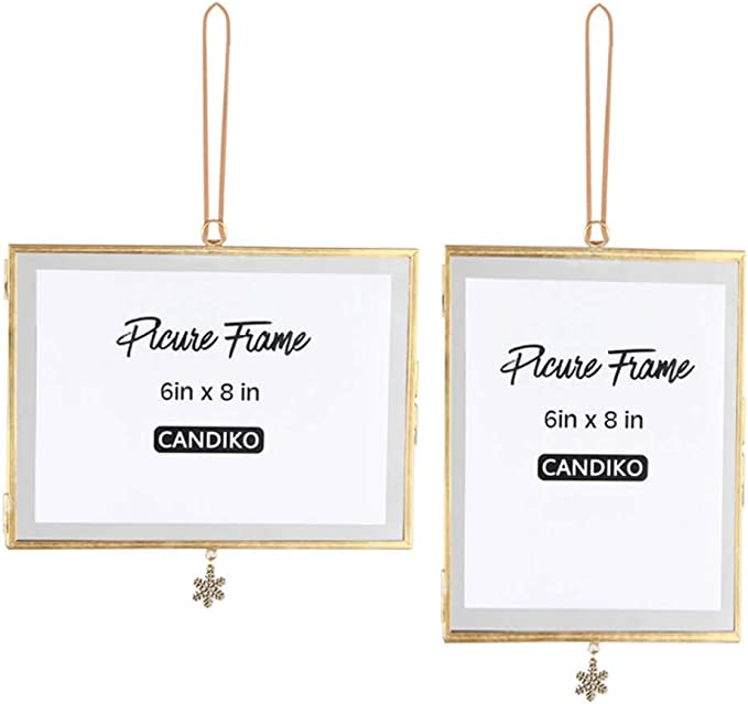 Gold 6x8 Picture Photo Frame Hang