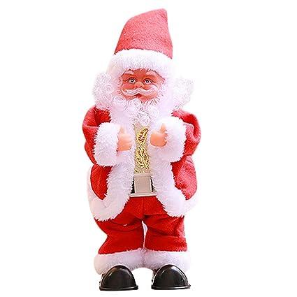 af7270853f31a lotus.flower Dancing Singing Santa Claus - Battery Powered Santa Wiggle Hip  Doll Electric Music