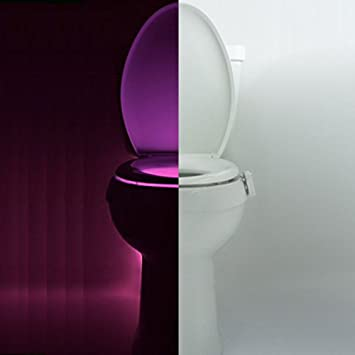 Bonlux motion sensor toilet bowl night light colorful home toilet bonlux motion sensor toilet bowl night light colorful home toilet bathroom human auto motion activated mozeypictures Image collections