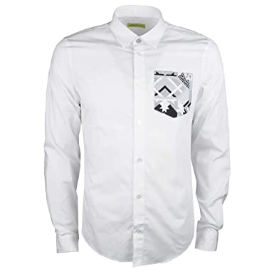Versace Jeans Chemise Slim - B1GQA6S4   Shirt Slim Contrast Pocket VJ - 54 6e478092997