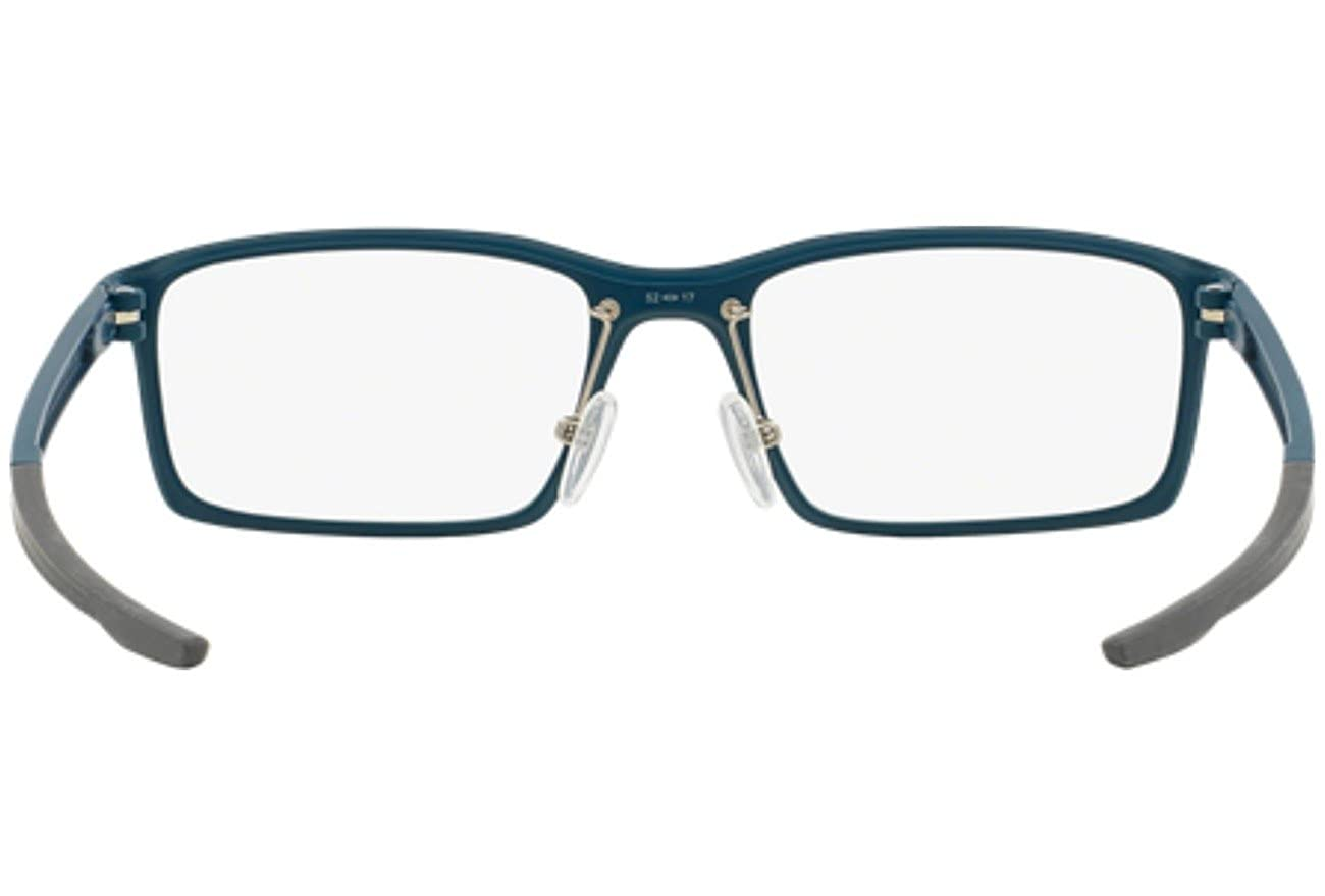 057ca33998 Oakley Unisex Eyewear Frames Milestone OX8038-0352 52mm Blue Steel  Amazon. co.uk  Clothing