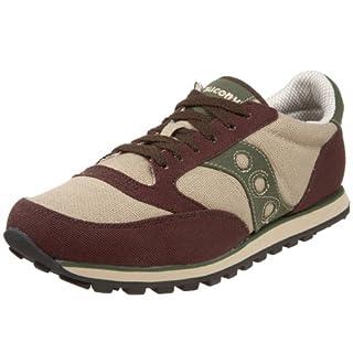new styles 0f029 89566 Saucony Originals Men's Jazz Low Pro Vegan Sneaker,Java ...