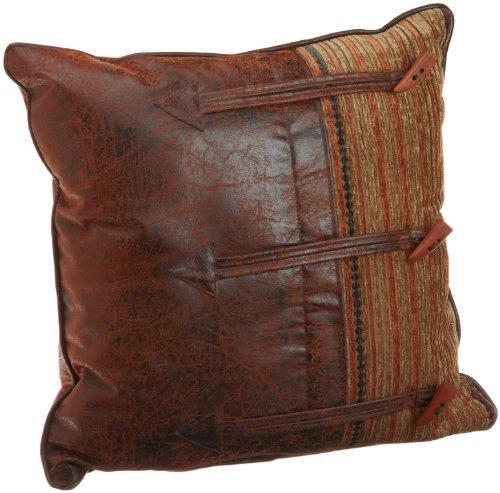 Croscill Plateau Fashion Pillow, 20-inch by 20-inch, Multi