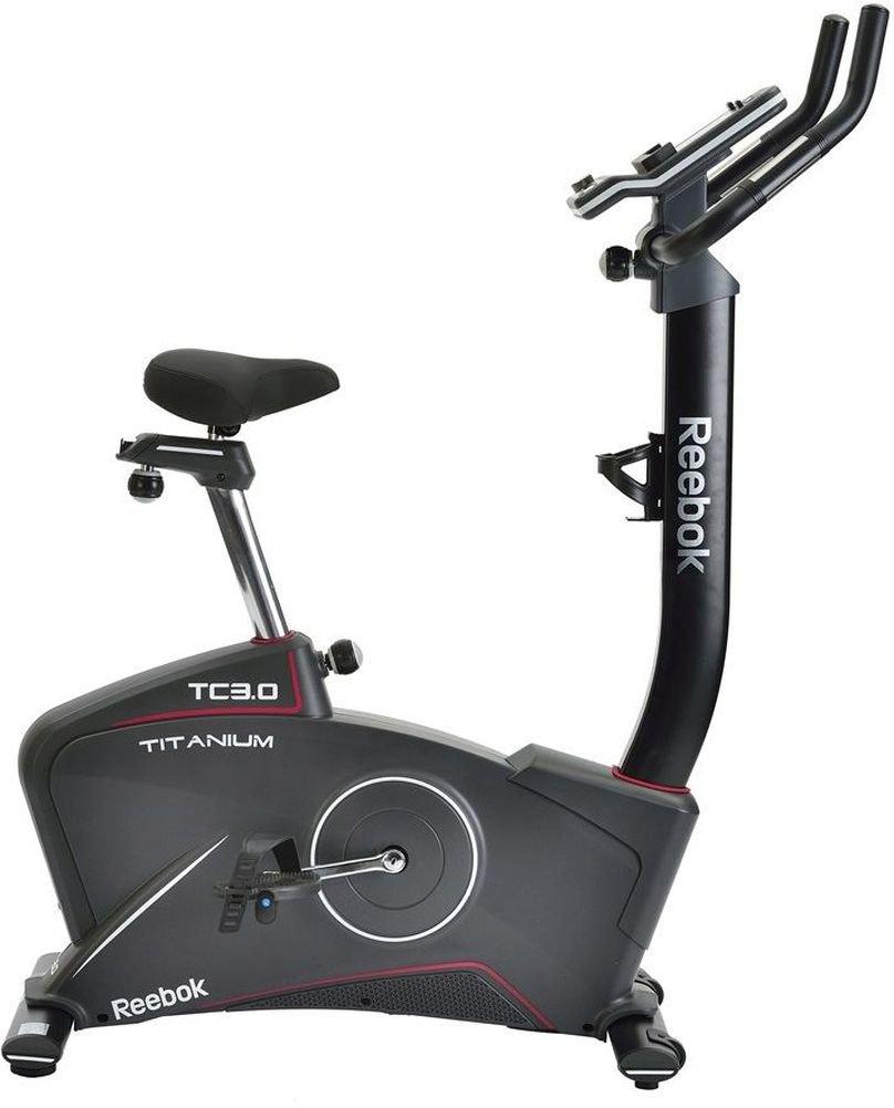 Reebok Bicicleta estática TC 3.0 Titanium - Negro: Amazon.es ...