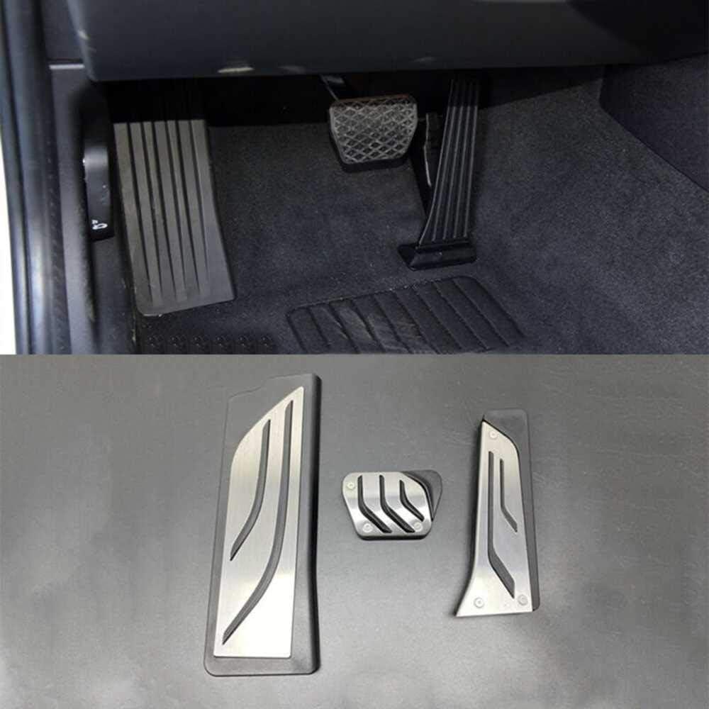 Gummi Rutschfestes Auto Gas Kraftstoff Bremse Fu/ßpedalauflage 3 St/ück//Satz Seven Continents F/ür BMW 3er G20 G21 2020 LHD Edelstahl