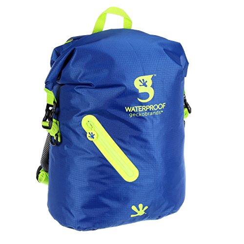 geckobrands Waterproof Lightweight Backpack