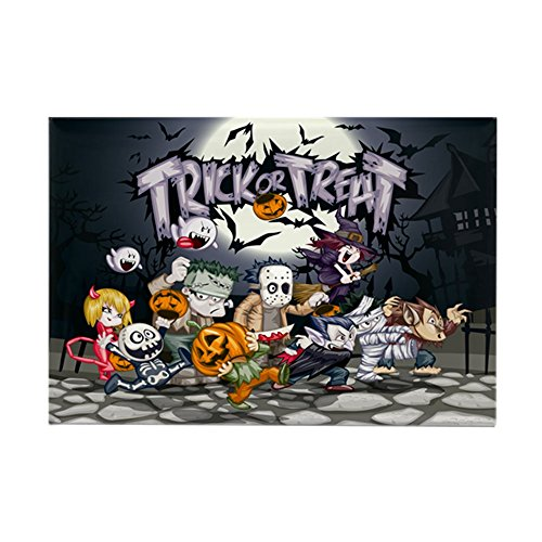 Rectangle Magnet Halloween Trick or Treat