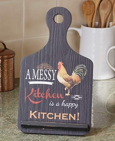 White Rooster Country Chicken Ceiling Fan Pull-3D Design