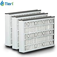 White-Rodgers FR1200TM-100 16x25x3 MERV 8 Comparable Air Filter - 3PK